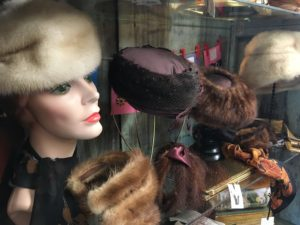 Hats at Terrace Oaks Antique Mall. Photo by Sandra Stringer.