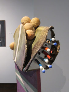 A clay piece by Henry G. Michaux. Photo by Susan W. Pidgeon.