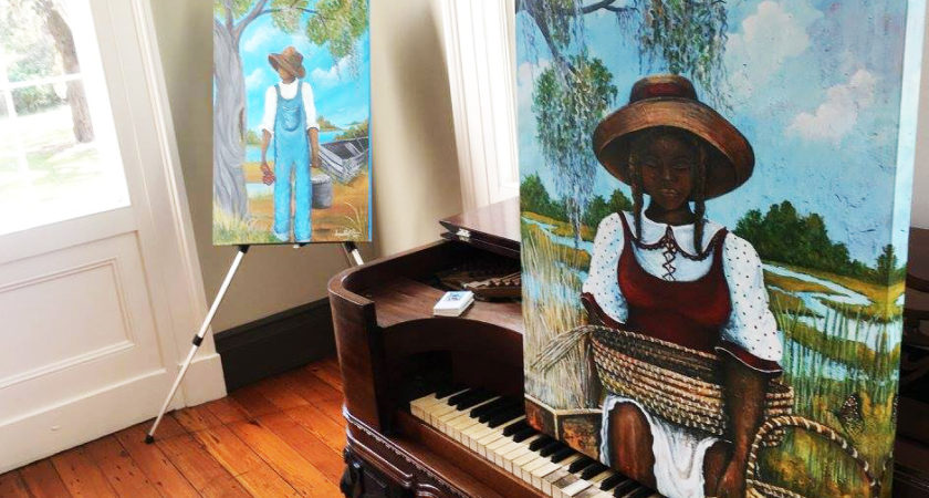 Follow Your Art: Meeting artist Sonja Griffin Evans at McLeod