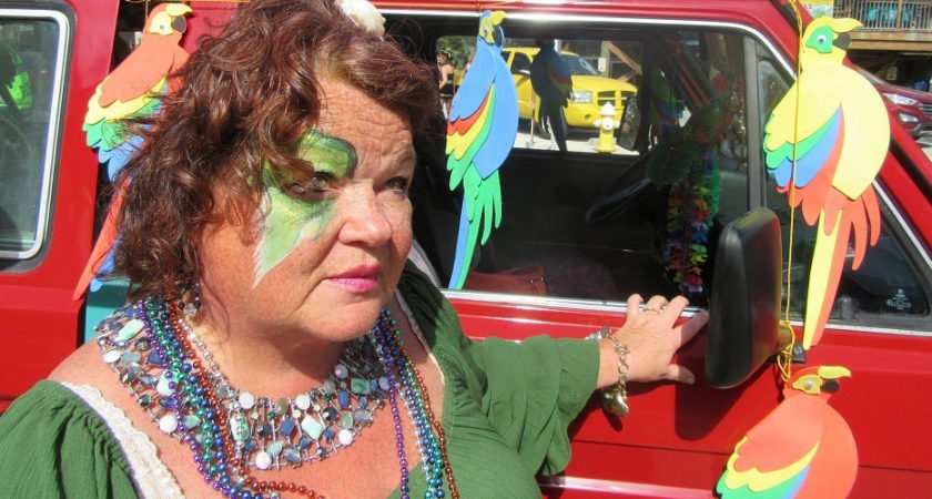 Follow your Art: The Art of Being in The Follygras Parade