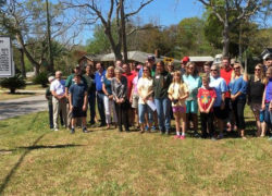 Lighthouse Point Neighborhood Association unveils historical marker