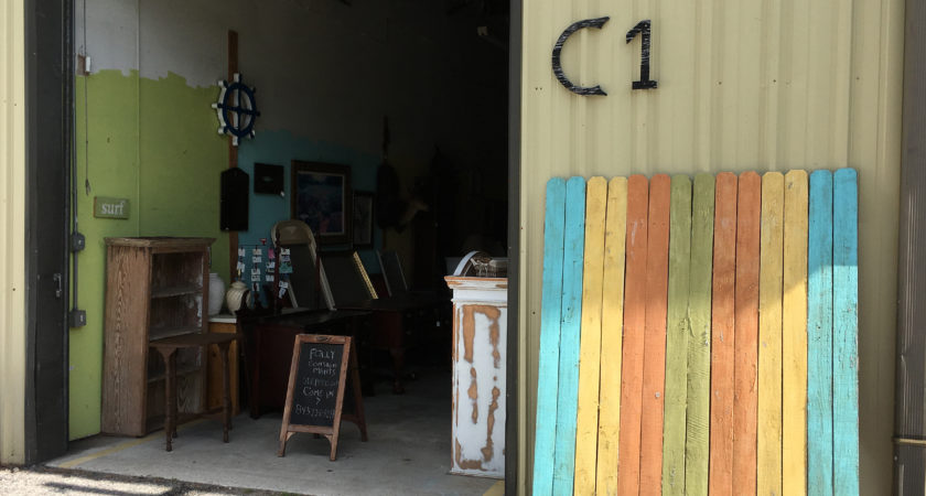 Folly Consignments has a little back road furniture warehouse