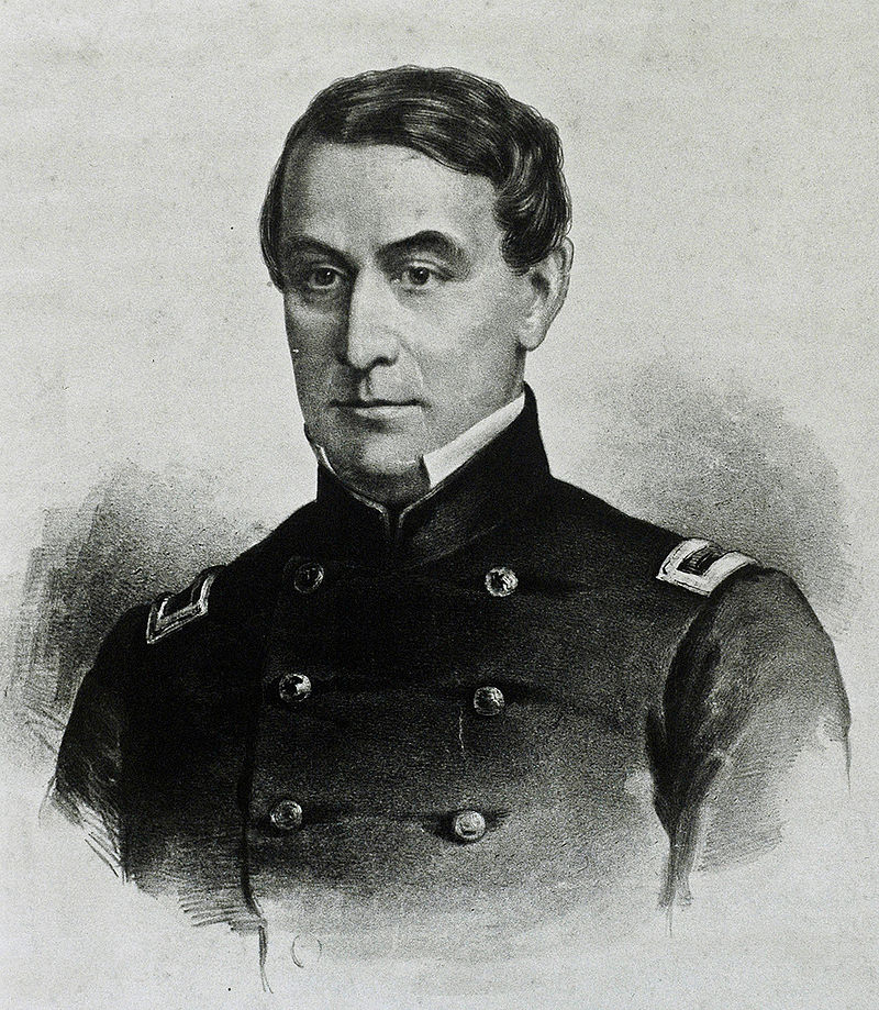 Major Robert Anderson. This work is in the public domain in its country of origin and other countries and areas where the copyright term is the author's life plus 70 years or less.
