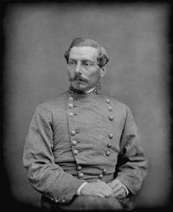 General P.G.T. Beauregard. This media file is in the public domain in the United States. This applies to U.S. works where the copyright has expired, often because its first publication occurred prior to January 1, 1923.