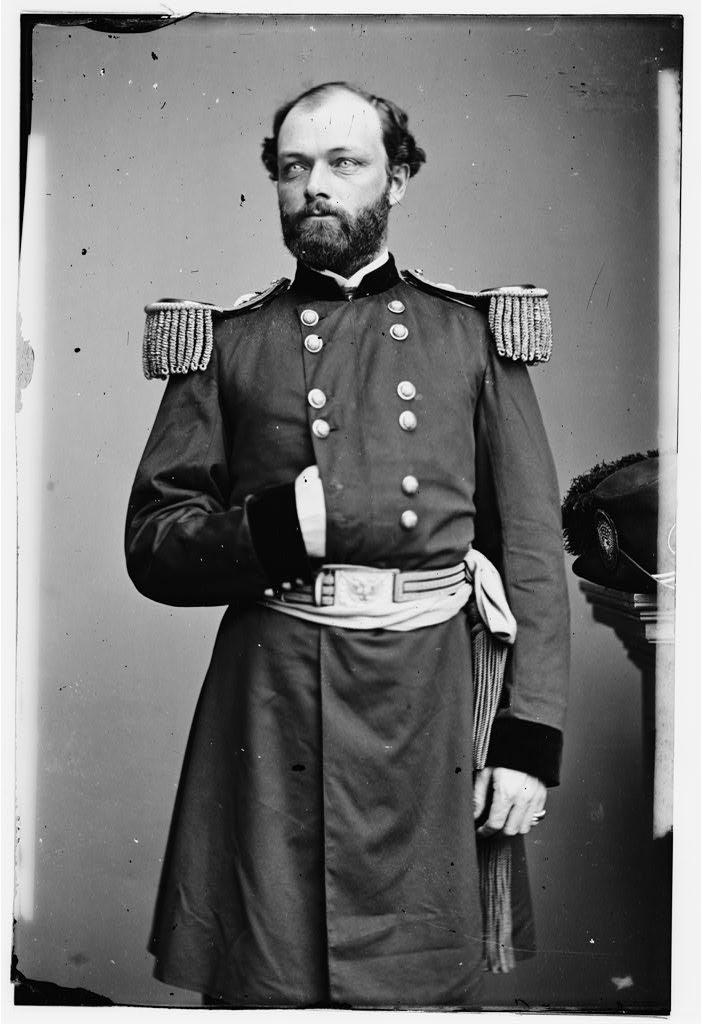 Portrait of Capt. Quincy A. Gillmore, officer of the Federal Army (Maj. Gen. from July 10, 1863). From the Library of Congress. http://www.loc.gov/pictures/resource/cwpb.06490/