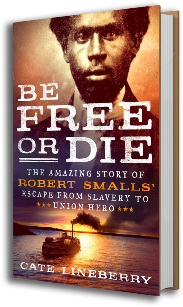 The cover of Be Free or Die by Cate Lineberry