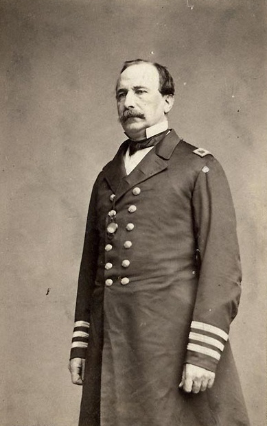 Commodore (later Vice Admiral) Stephen C. Rowan, US Navy. From Wikipedia: https://en.wikipedia.org/wiki/Stephen_Clegg_Rowan#/media/File:Stephen_C_Rowan.jpg