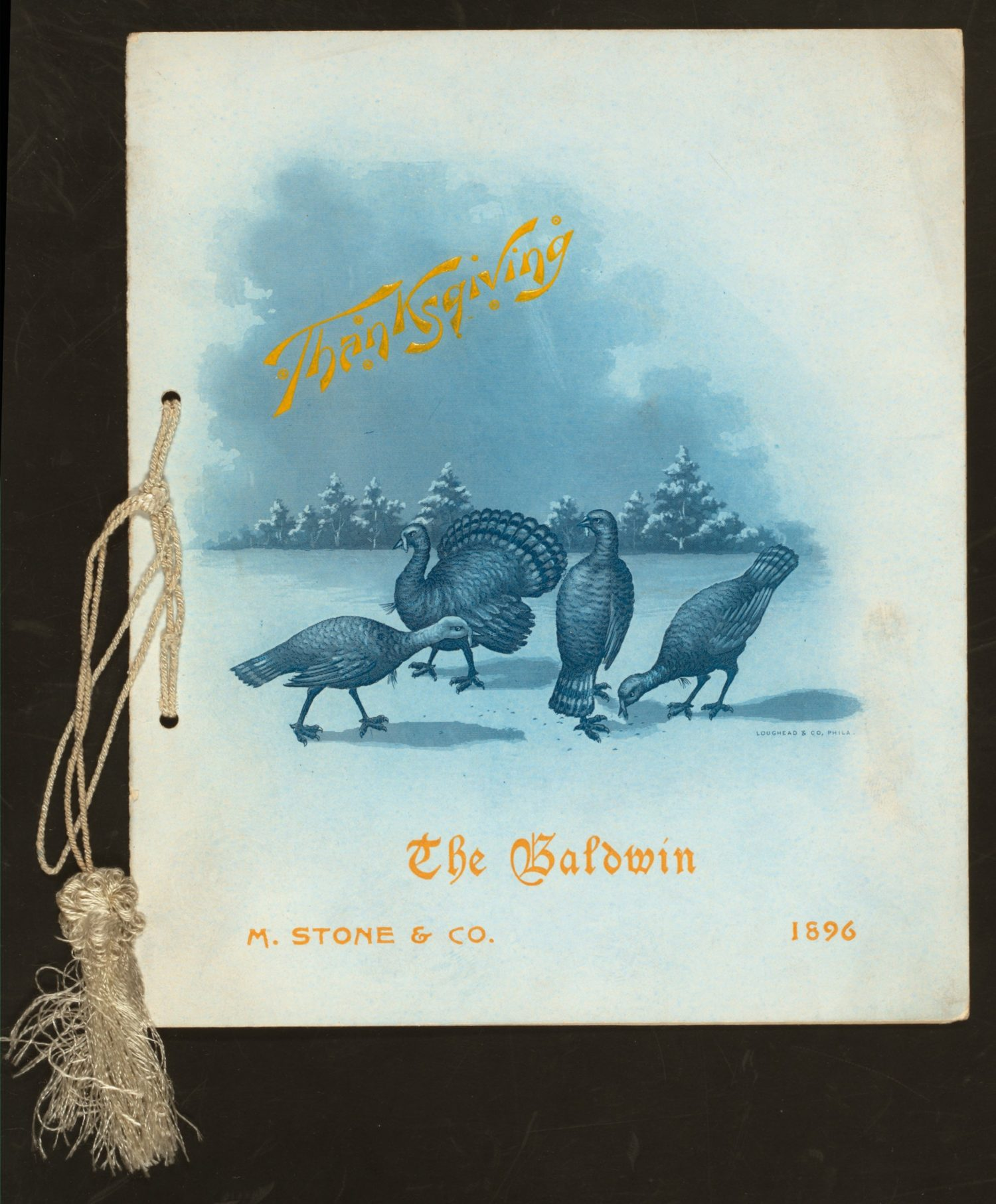 "Rare Book Division, The New York Public Library. ""THANKSGIVING DAY DINNER [held by] BALDWIN [at] ""SAN FRANCISCO, CA;"" (HOTEL)"" The New York Public Library Digital Collections. 1896. http://digitalcollections.nypl.org/items/510d47db-2bdf-a3d9-e040-e00a18064a99"