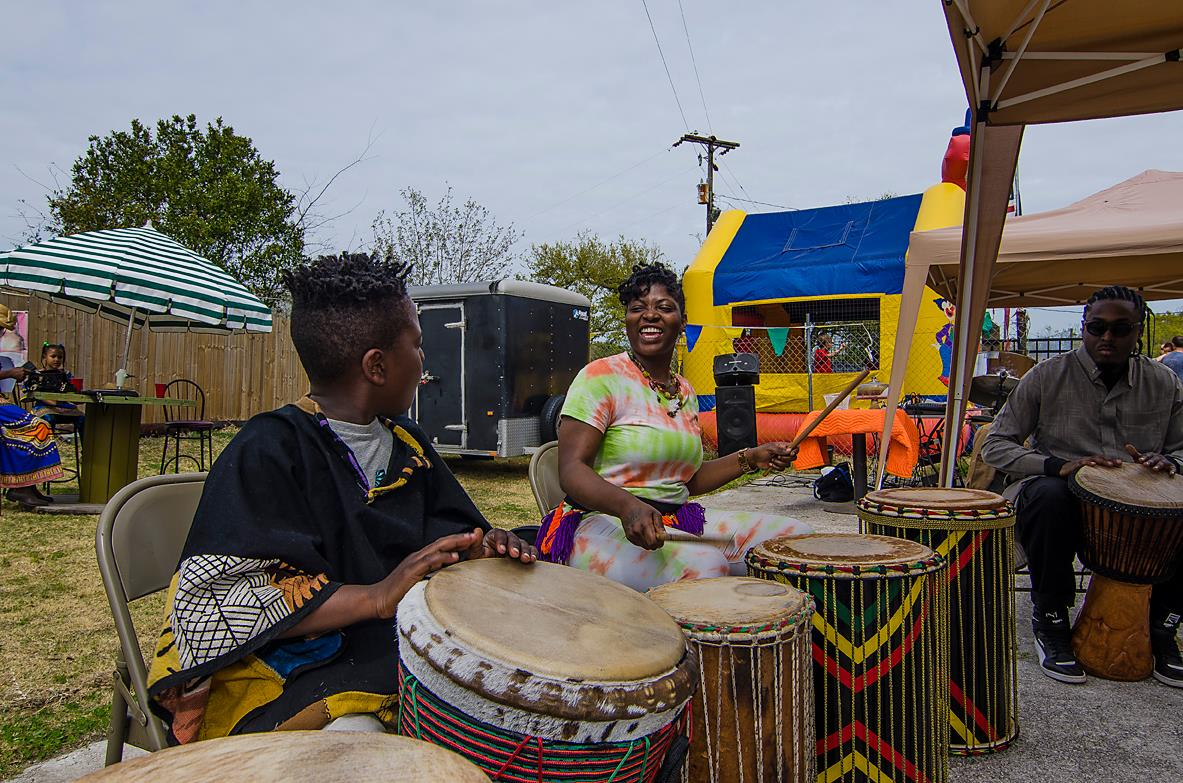 Drummers at Unity in Diversity.