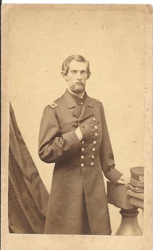 Acting Assistant Paymaster Frederic Calvin Hills, circa 1863. Author's collection.