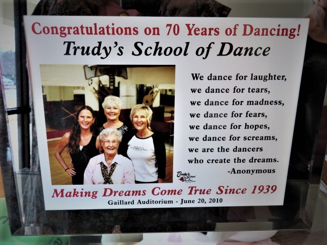 Trudy's flyer